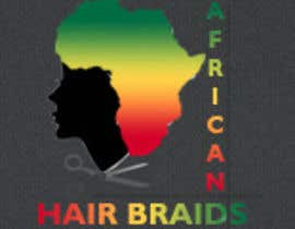 #38 for Design a Small Logo for www.AfricanHairBraids.com.au af vdragon47