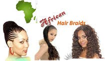 Contest Entry #1 for Design a Small Logo for www.AfricanHairBraids.com.au