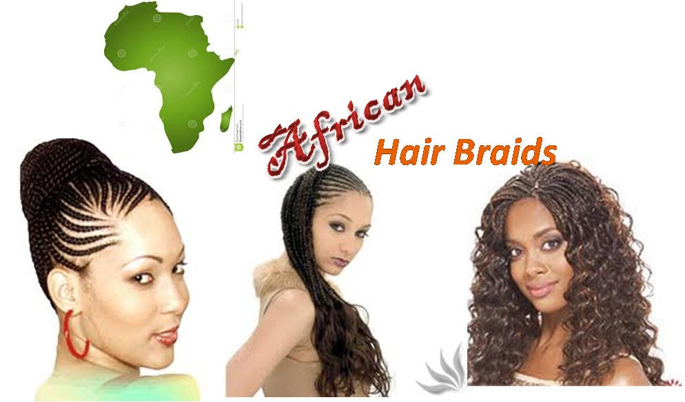 #1 for Design a Small Logo for www.AfricanHairBraids.com.au by Yerabilli