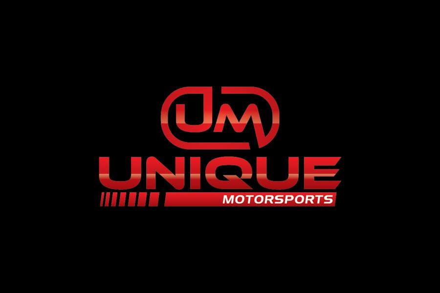 Penyertaan Peraduan #24 untuk Design a Logo for Unique Motorsports