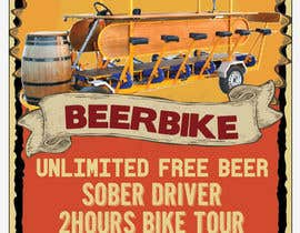 nº 8 pour Design a Flyer for Beerbike par milkshake235