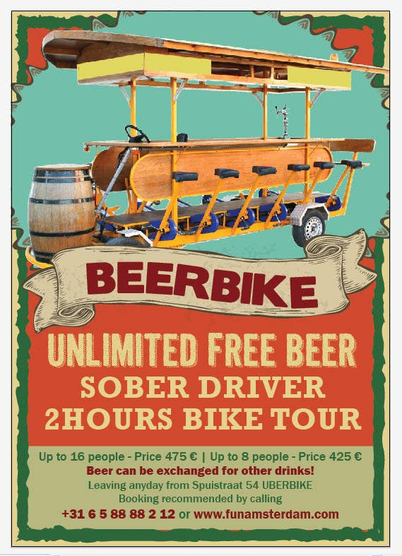 Proposition n°9 du concours Design a Flyer for Beerbike