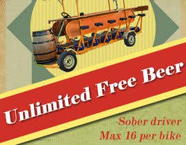 #7 for Design a Flyer for Beerbike af yaroslavperez
