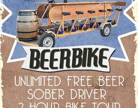 #5 for Design a Flyer for Beerbike af jeremybritz