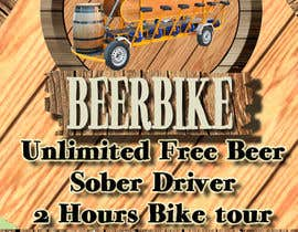 #14 for Design a Flyer for Beerbike by edver15