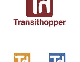 nº 6 pour Design a Logo for our new app transithopper par fouziaali22