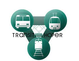 nº 11 pour Design a Logo for our new app transithopper par Mozetto