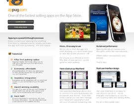 #25 cho Website Design for Appug.com, a new online messaging service (generic web page). bởi dragnoir