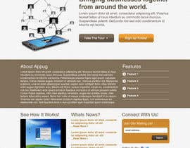 #30 cho Website Design for Appug.com, a new online messaging service (generic web page). bởi wademd