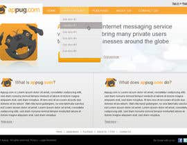 #20 para Website Design for Appug.com, a new online messaging service (generic web page). de tuanrobo