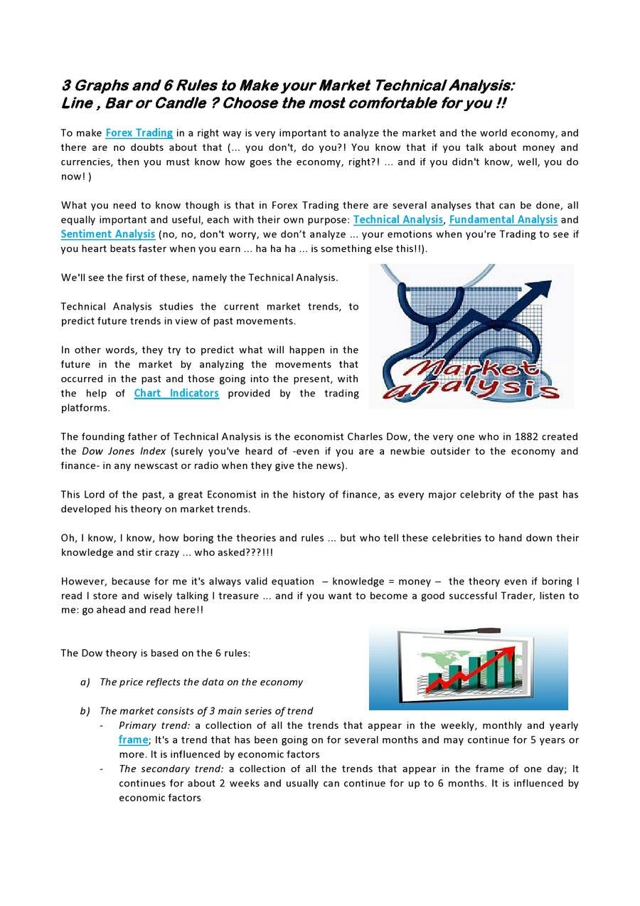 Entry #25 by dolcevitalavoro for forex trading articles