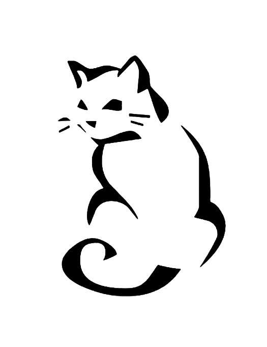 Entry #12 by escadrill for Cat Logo Design : Freelancer