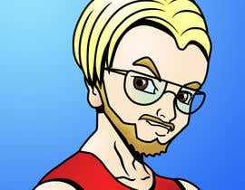 #12 for Design a cartoon, manga or hand drawn logo of me for my blog by hollyajacks
