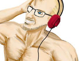#22 for Design a cartoon, manga or hand drawn logo of me for my blog by ingreat