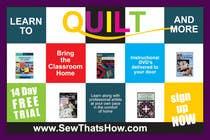 Graphic Design Inscrição do Concurso Nº105 para Graphic Design for SewThatsHow.com