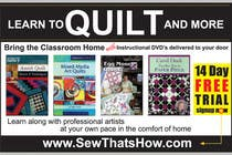 Graphic Design Inscrição do Concurso Nº95 para Graphic Design for SewThatsHow.com