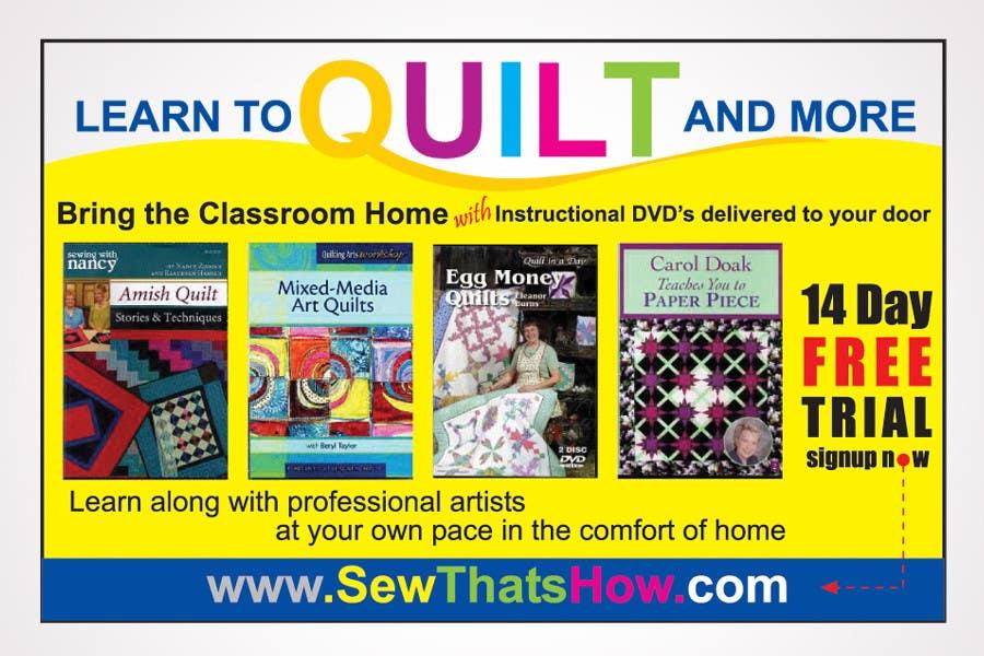 Inscrição nº 117 do Concurso para Graphic Design for SewThatsHow.com