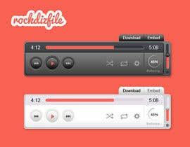 #9 untuk Design Front Page Mockup & Music Player (no html/css required. PSD file required) oleh informationaccur