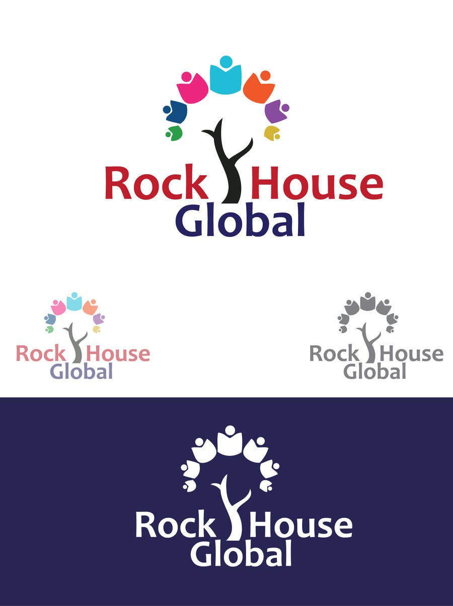 Konkurrenceindlæg #33 for Design a Logo for Rock House Global