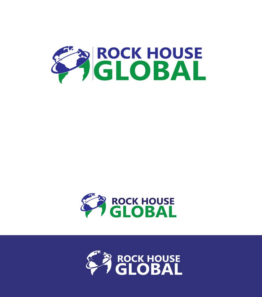 Konkurrenceindlæg #126 for Design a Logo for Rock House Global