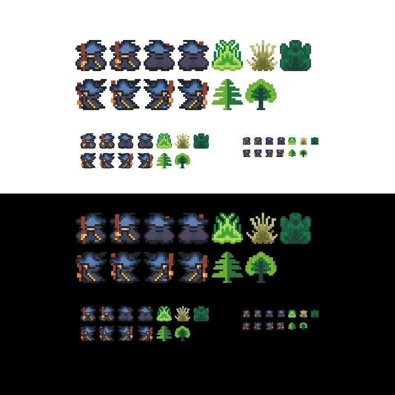 #3 for Video Game Spriter Wanted by dancow