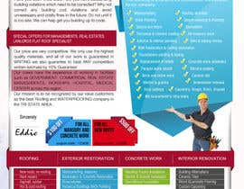 #15 para Design a Brochure (Introduction letter) for contractor por proxlservice