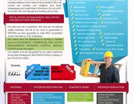 #17 for Design a Brochure (Introduction letter) for contractor af proxlservice