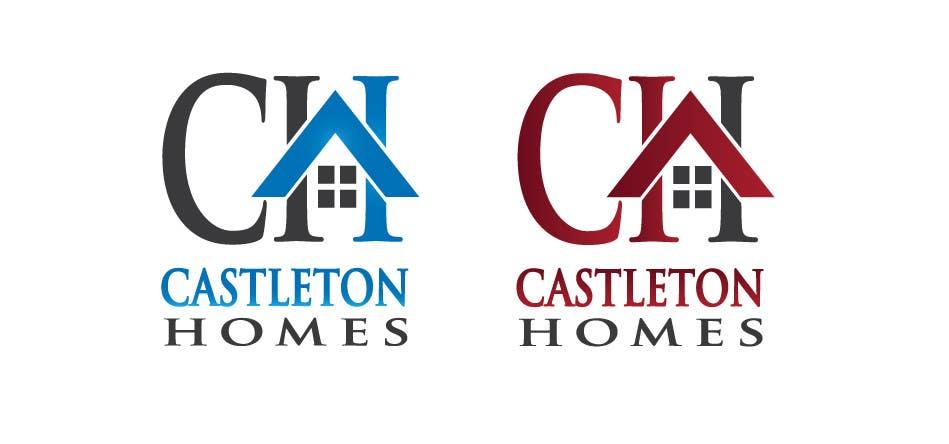 Kilpailutyö #160 kilpailussa Design a Logo for Castleton Homes