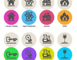 nº 7 pour Design some Icons for Website par dreamstudios0
