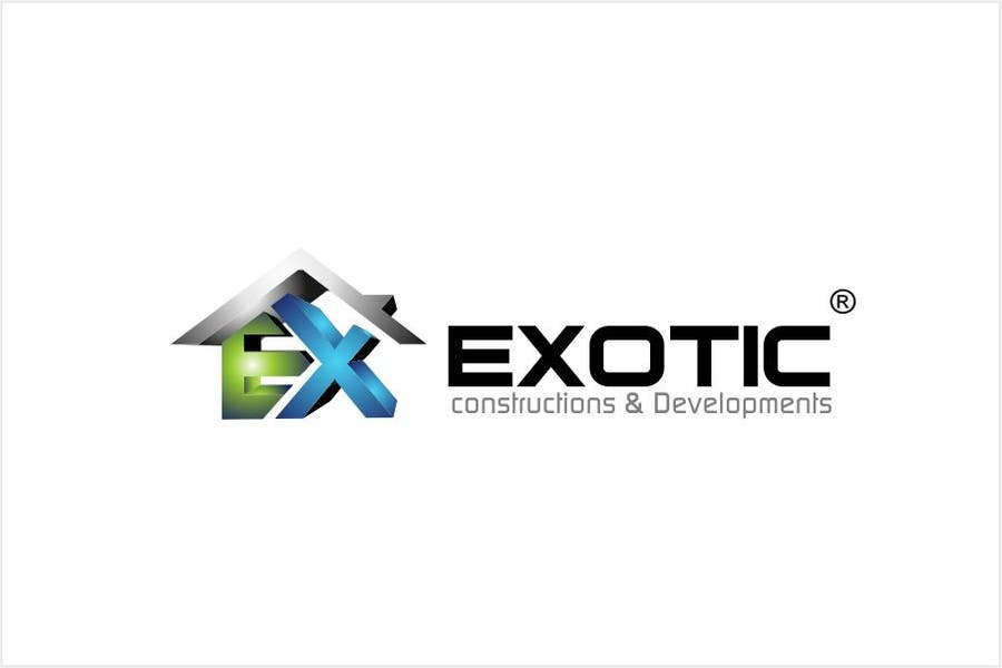 """#245 for Design a conceptual and intelligent Logo for the word """"EXOTIC"""" along with a punchline/ tagline (optional) by timedsgn"""