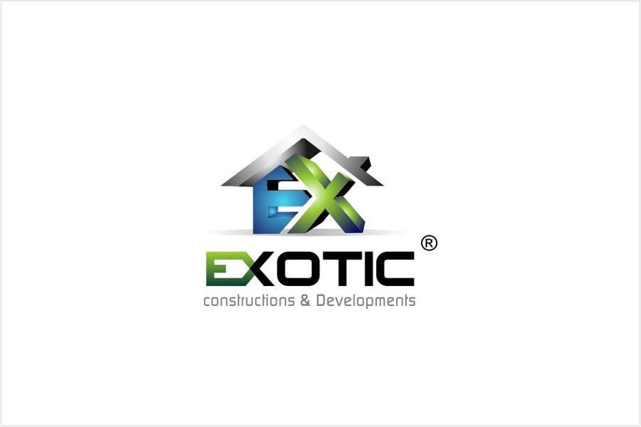 """#272 for Design a conceptual and intelligent Logo for the word """"EXOTIC"""" along with a punchline/ tagline (optional) by timedsgn"""