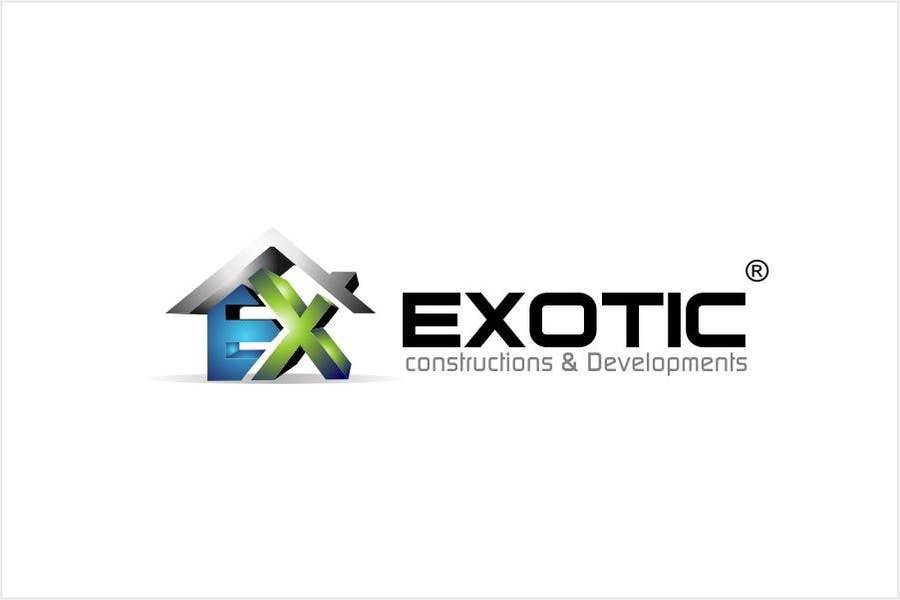 """#274 for Design a conceptual and intelligent Logo for the word """"EXOTIC"""" along with a punchline/ tagline (optional) by timedsgn"""