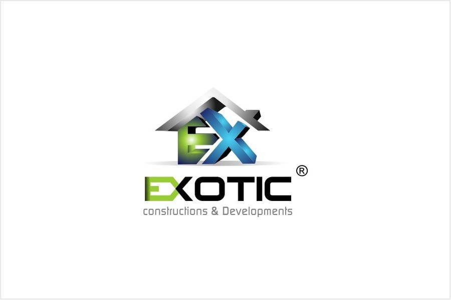 """#275 for Design a conceptual and intelligent Logo for the word """"EXOTIC"""" along with a punchline/ tagline (optional) by timedsgn"""