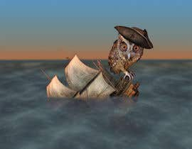 #10 for Owl in a boat by KirtokaN