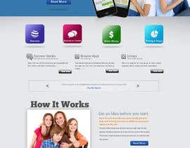 #122 para Design a Website Mockup for SMSSentry.com por uniqmanage