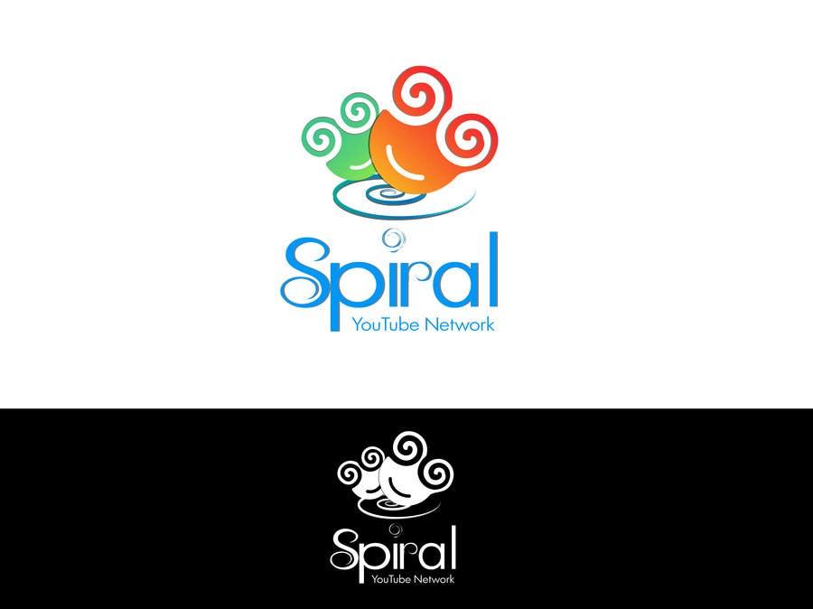 Penyertaan Peraduan #64 untuk Designa en logo for Spiral