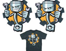 #38 para Cartoon Tee shirt design por kiekoomonster