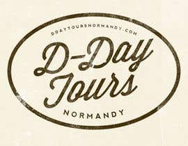 nº 57 pour D-DAY TOURS NORMANDY LOGO par davidgraeme