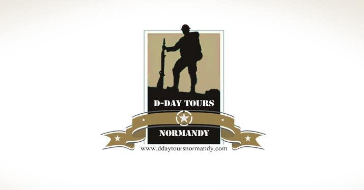 Proposition n°54 du concours D-DAY TOURS NORMANDY LOGO