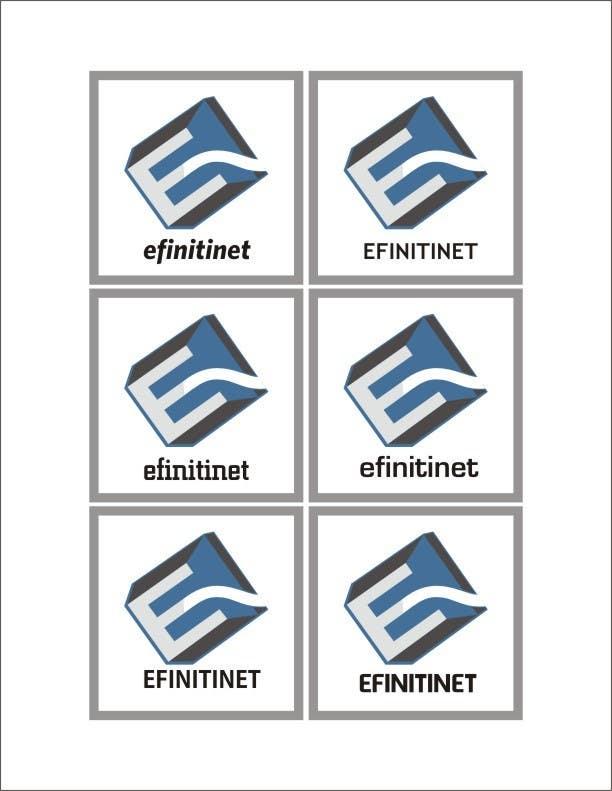 Konkurrenceindlæg #                                        11                                      for                                         Design Logo For New Start Up Company Efinitinet