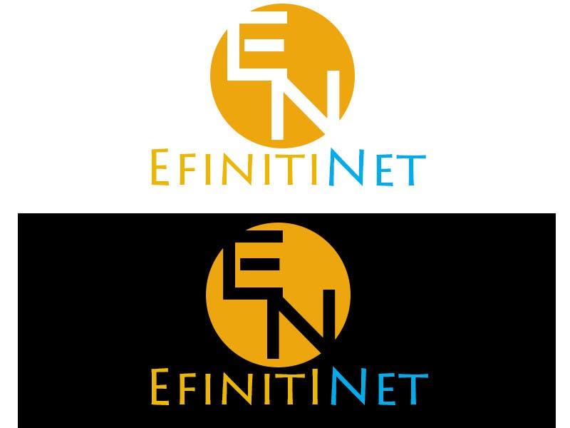 Konkurrenceindlæg #                                        8                                      for                                         Design Logo For New Start Up Company Efinitinet