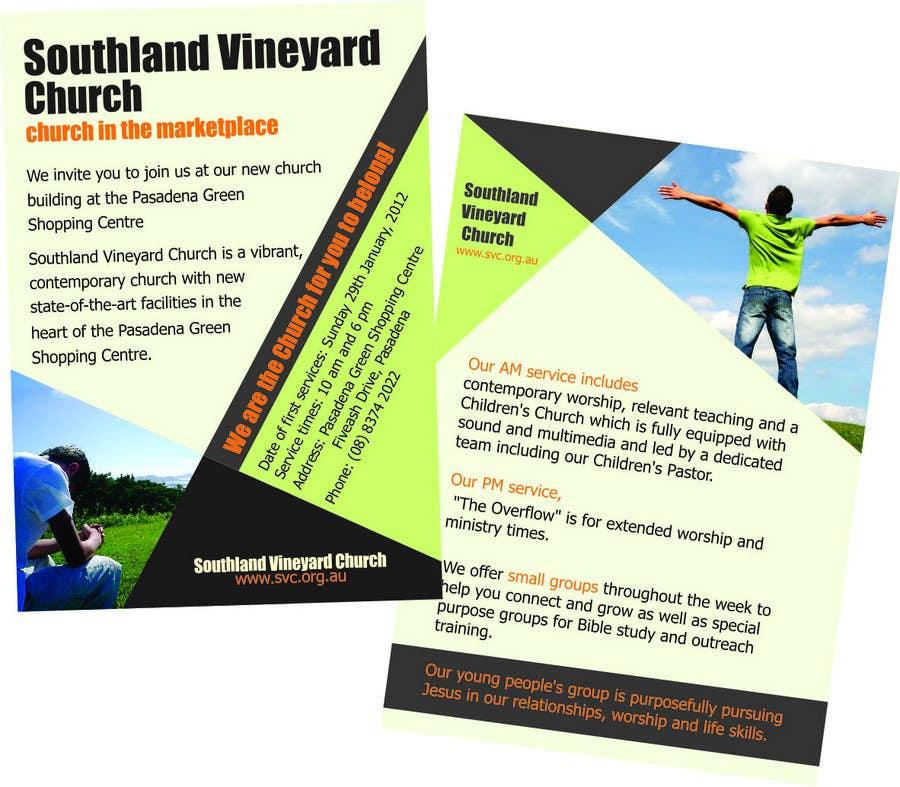 Participación en el concurso Nro.59 para Flyer Design for Southland Vineyard Church