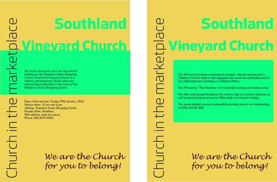 Participación en el concurso Nro.76 para Flyer Design for Southland Vineyard Church