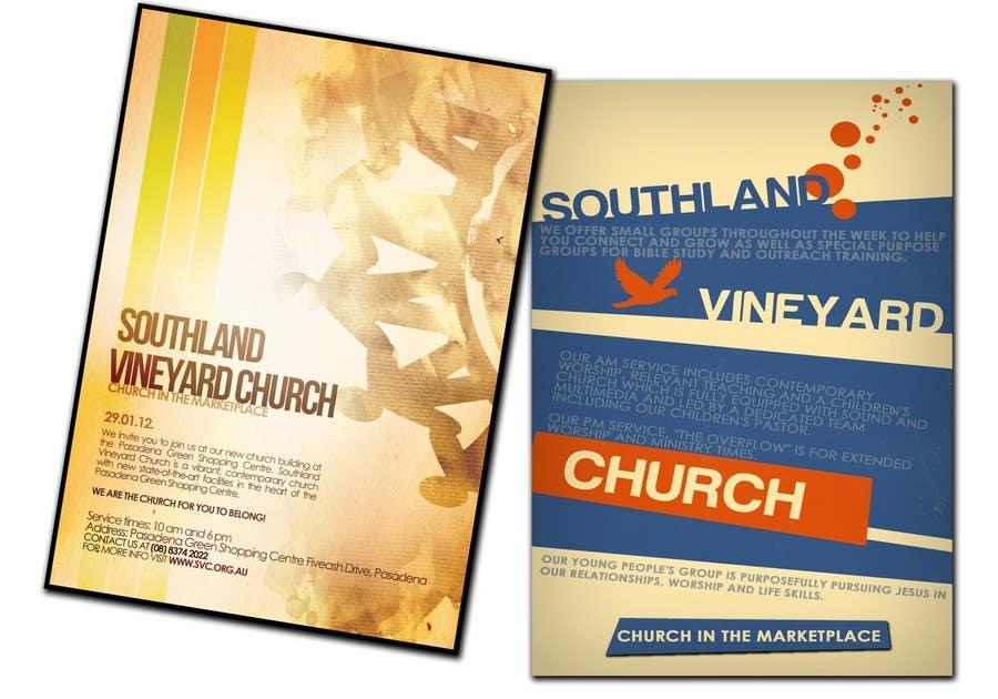 Participación en el concurso Nro.71 para Flyer Design for Southland Vineyard Church