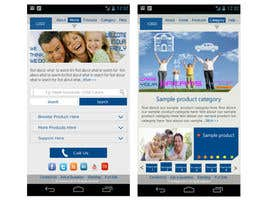 #14 untuk Design a Mobile Website Mockup for a multinational insurance company oleh king5isher