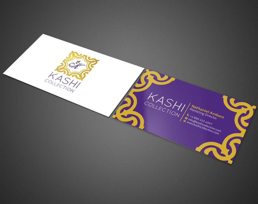 Contest Entry 16 For Design Business Cards An International Fashion Brand