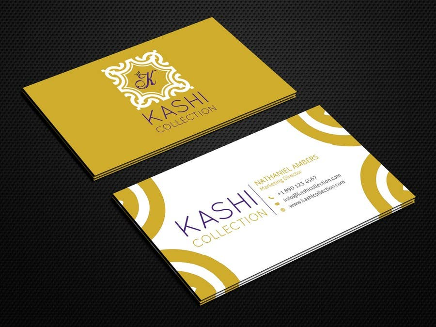 Contest Entry 11 For Design Business Cards An International Fashion Brand