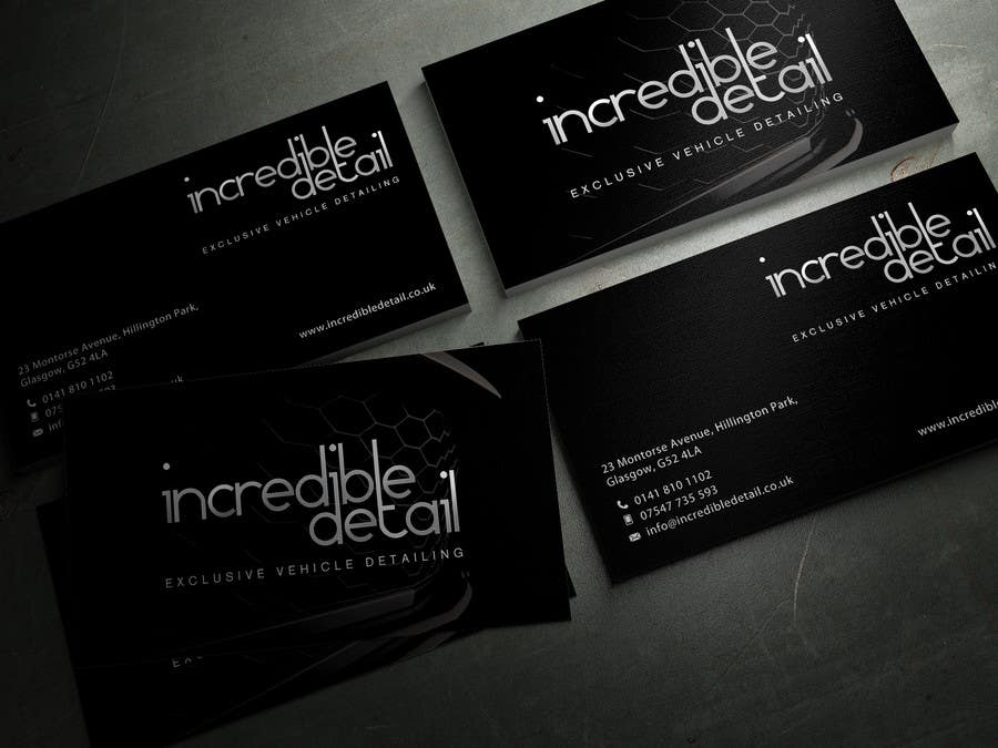 Detailing business card selol ink detailing business card reheart Gallery