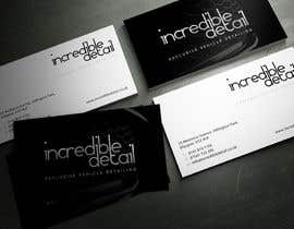 #29 cho Design some Business Cards for Car Detailing Company bởi sashadesigns
