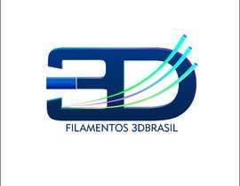 Nro 26 kilpailuun Logo para Filamentos 3D Brasil käyttäjältä eloy62
